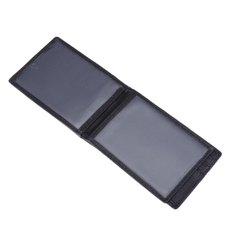 HT Leather Card Holder Wallet Men Drivers License Bag Slim Business ...