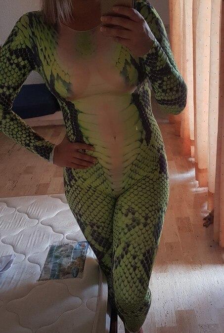 5aa4aa8247d4 A Green Snake Tattoo Bodysuit/Jumpsuit Sexy Dance Costume – XOXOcostumes
