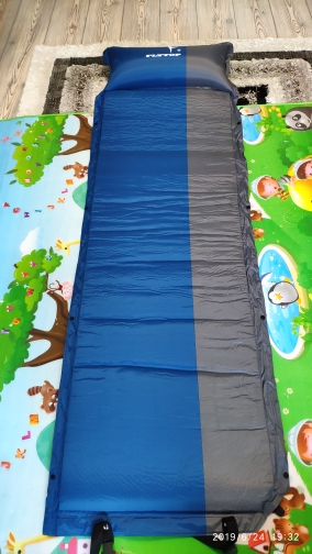 Esteira de acampamento automático colchão inflável