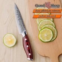 Damascus Kitchen Knife – Grandsharp 5″ Utility Knife