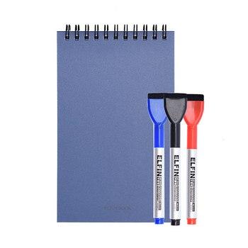 Elfinbook спиральная мини умная многоразовая записная книжка блокнот для рисования как Rocketbook
