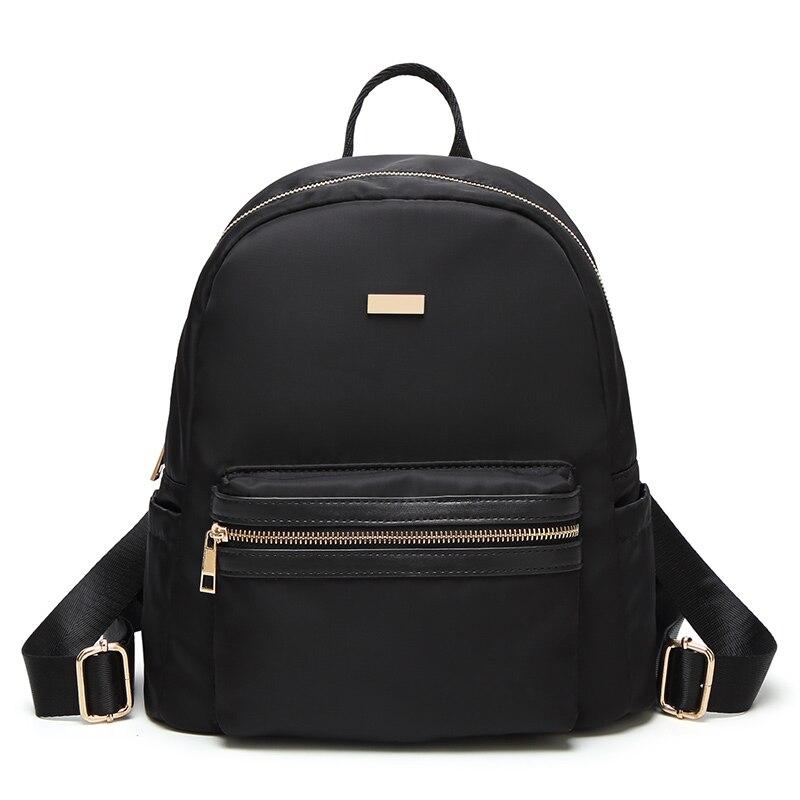 Women Backpack School Bags For Teenagers Girls 2017 Fashion Plush kanken Backpack Brand Designer Nylon Black Travel Backpacks 58 women fashion graffiti printed backpack for ladies fresh style school bags 2017 new designer original brand travel backpacks