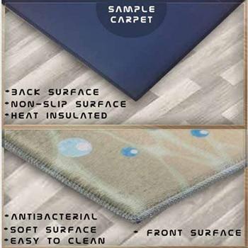 אחר גדול פיצה על טרי ירקות 3d דפוס הדפסת אנטי להחליק בחזרה עגול מטבח שטיחים אזור שטיח לסלון חדרי