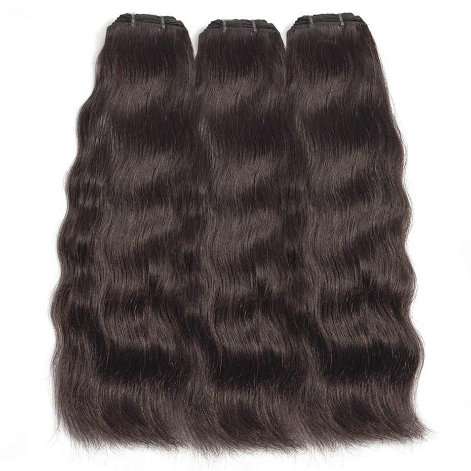 Prom Queen 9A Hair Peruvian Remy Hair Bundles Natural Wave Human Hair Straight Extension 1-3-4 P/Lots Free Shipping