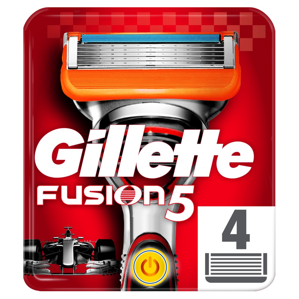 Replaceable Razor Blades for Men Gillette Fusion Power Blade shaving 4 pcs Cassettes Shaving  Fusion shaving cartridge Fusion removable razor blades for men gillette fusion blade for shaving 4 replaceable cassettes shaving fusion shaving cartridge fusion