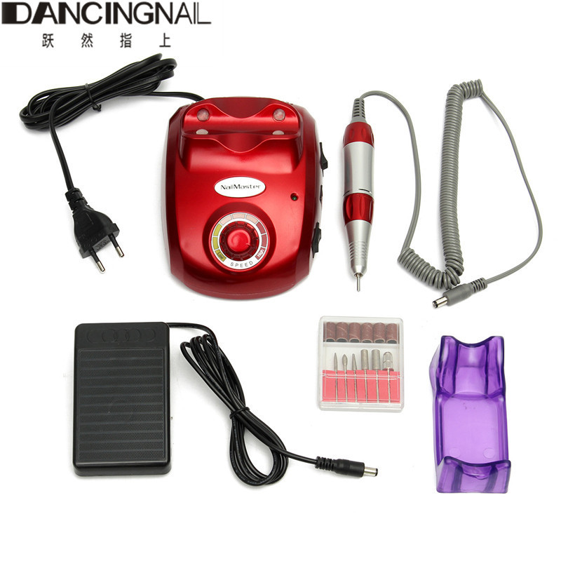 цена на Professional Electric Nail Drill File Machine 30000 RPM Nail Drill Maniure And Pedicure Drill Polish For Nail Art Gel Polish