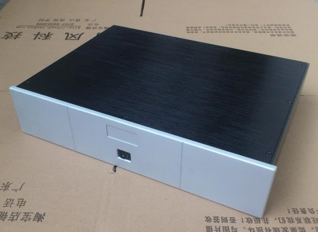 BZ4309P DIY Amplifier Case All Aluminum Housing DAC Decoder Enclosure Preamplifier Box 430MM*90MM*308MM стоимость