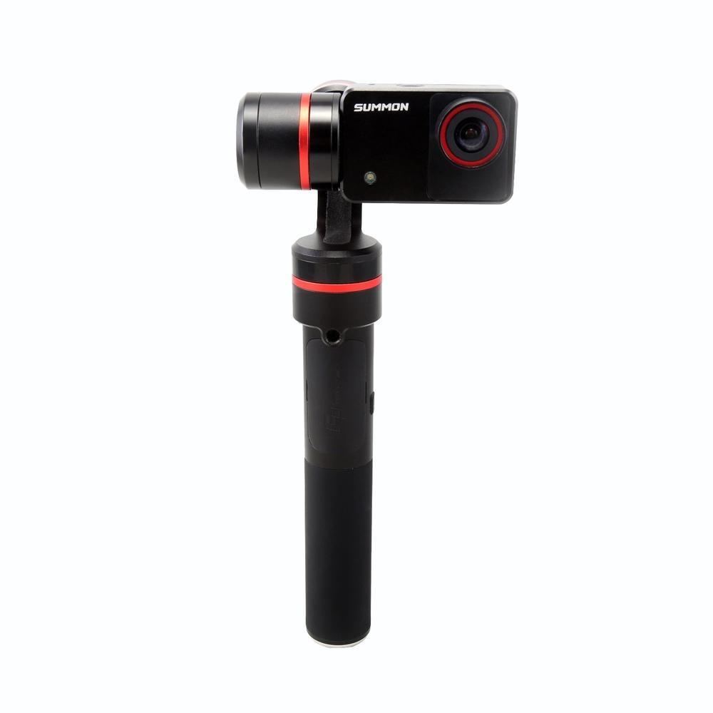 Feiyu FY CONVOQUER 3-Axis 4 K Caméra Intégré Poche Steady Brushless Cardan PK DJI OSMO Livraison DHL