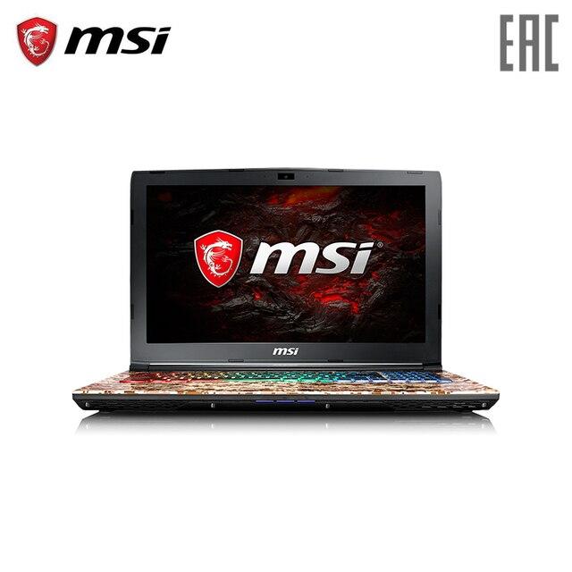 Игровой ноутбук MSI GE62VR 7RF Camo Squad1093RU 15.6 120 Гц/i7-7700HQ/16 ГБ/1 ТБ + 128 ГБ SSD/GTX1060/DVD-SM/Win10 [рюкзак в комплекте]