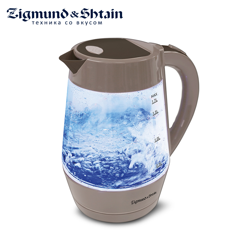 Zigmund & Shtain KE-818 Electric kettle Constant Temperature Control Electric Water Kettle 1,7L Thermal Insulation teapot