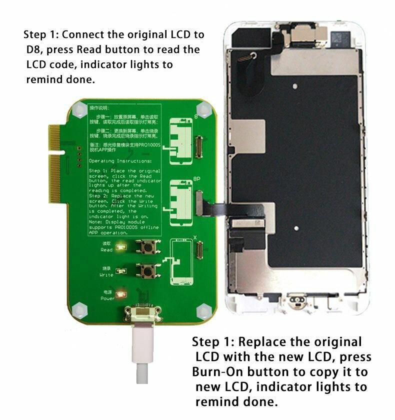 iPhone 8 8P X Ambient Light Sensor repair tool 2