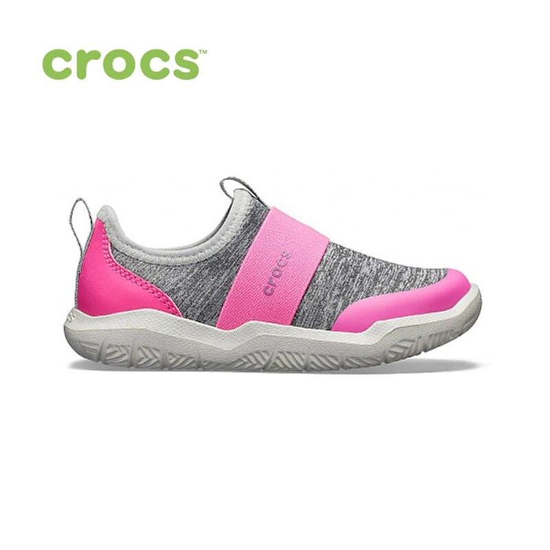 купить CROCS Swiftwater EasyOn Hthr Shoe K KIDS or boys/for girls, children, kids TmallFS shoes по цене 3299 рублей