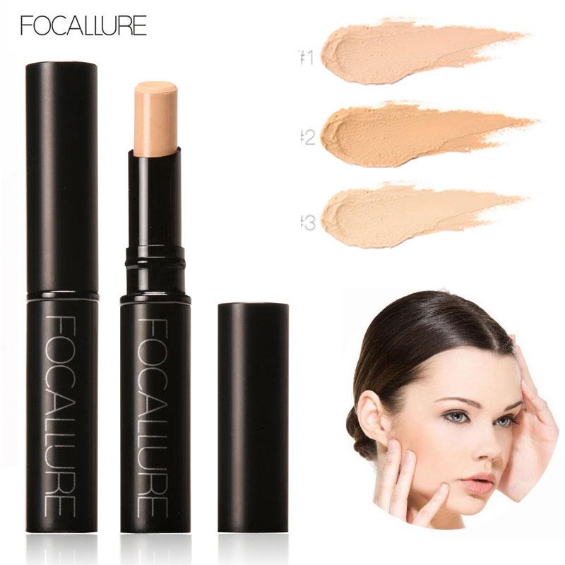 Focallure Brand Concealer Stick Stark effekt ansikts primer Foundation Makeup Contour pincel vattentät korrektor imagic cosmetics
