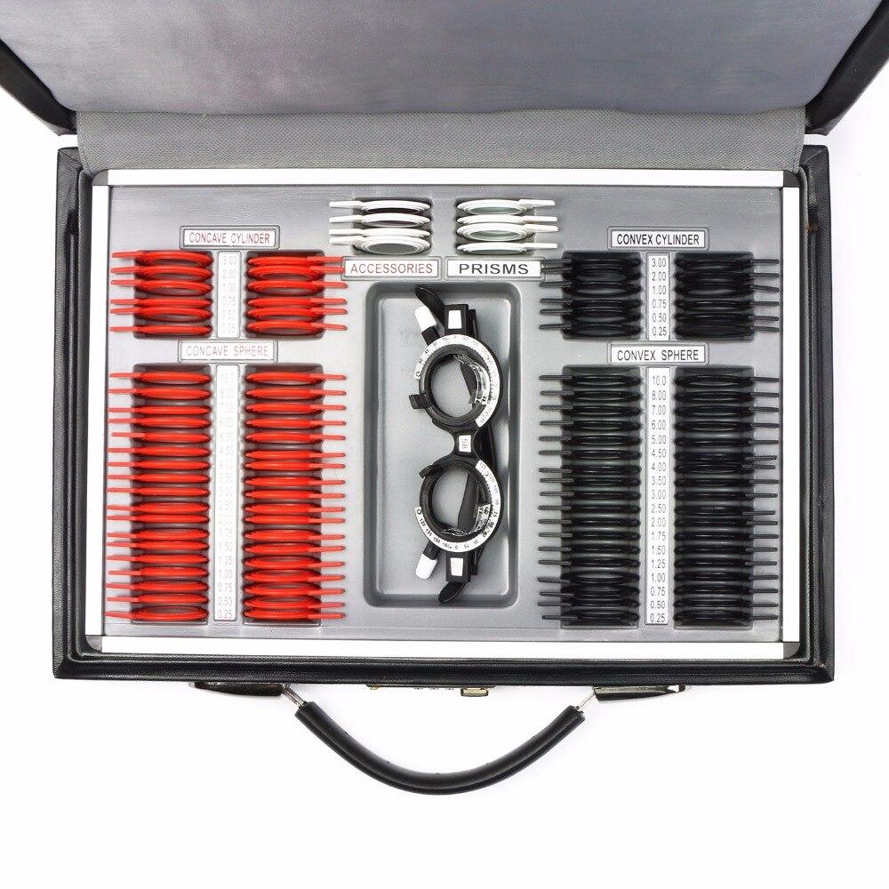 104 stücke Optische Test Objektiv Set Kunststoff Felge Leder Fall + 1 Kostenlose Testversion Rahmen mit CE-in Objektive aus Werkzeug bei AliExpress - 11.11_Doppel-11Tag der Singles 1