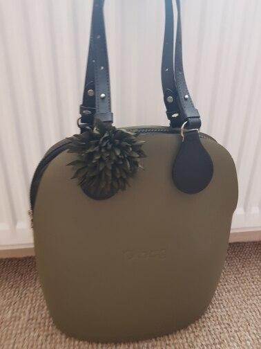 tanqu  Bidirectional  Flat Leather Adjustable Length Belt Handle with Drops for Obag Basket Bucket City Chic Women Handbag O Bag photo review