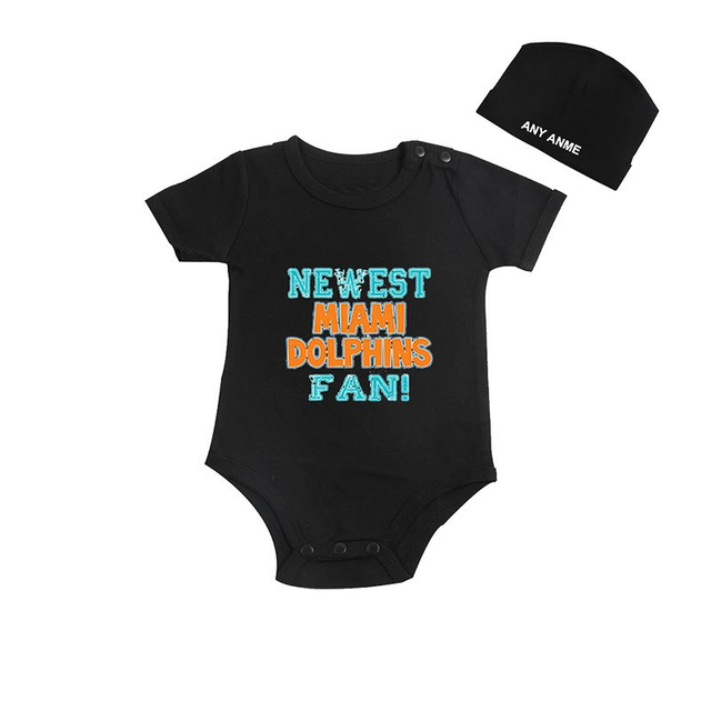 Culbutomind Newest Miami Dolphins Fan Kids Shirt or Baby Body suit Funny  Baby Child boy Clothing 3be2ec2bc