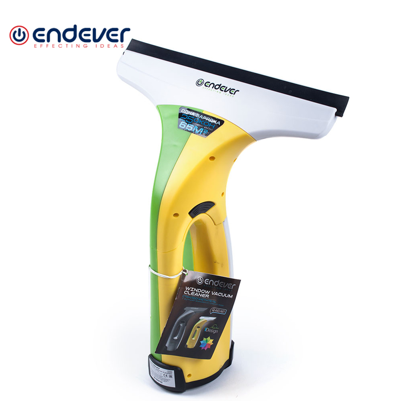 Cordless window cleaner Endever Q-441 5 12mm magnetic window glass cleaner double side cleaning brush