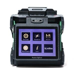 Image 4 - Komshine GX37 ftth fusionadora fibra البصري الربط آلة مع KF 52 جهاز تقطيع الألياف البصرية
