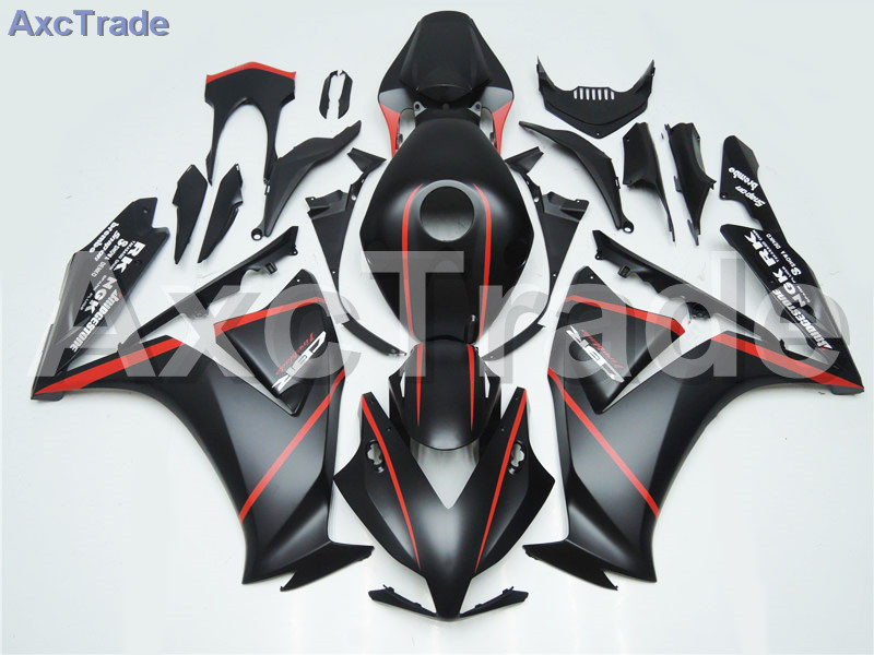 Motorcycle Fairings For Honda CBR1000RR CBR1000 CBR 1000 2012 2013 2014 2015 ABS Plastic Injection Fairing Bodywork Kit Black injection mold fairing for honda cbr1000rr cbr 1000 rr 2006 2007 cbr 1000rr 06 07 motorcycle fairings kit bodywork black paint