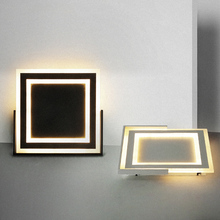 Stylish Acrylic Modern led ceiling lights for living room bedroom AC 85-265V ceiling lamp fixture Indoor lighting AC90-260V veihao new modern led ceiling lamp for living room bedroom study indoor acrylic square round art ceiling lamp lighting ac85 260v