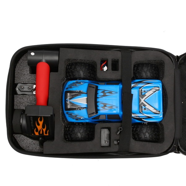 Realacc Backpack Hards Case Bag For Wltoys A979 B Rc Car Accessories