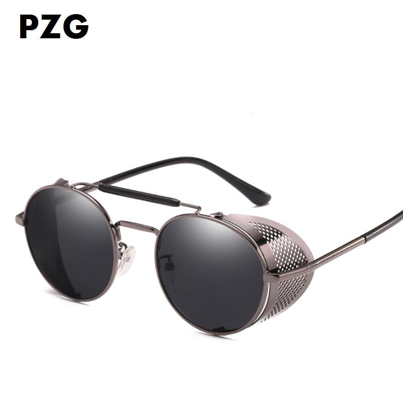 PZG Yeni moda Pank gözlükləri kişilərin gözlüklərini - Geyim aksesuarları - Fotoqrafiya 5