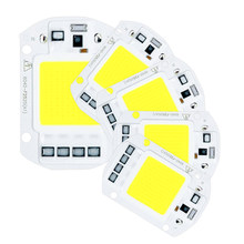 5PCS LED Lamp Chip 220V 20W 30W 50W Cold White Warm White led COB Smart IC Driver Fit For DIY LED Spotlight Floodlight(China)