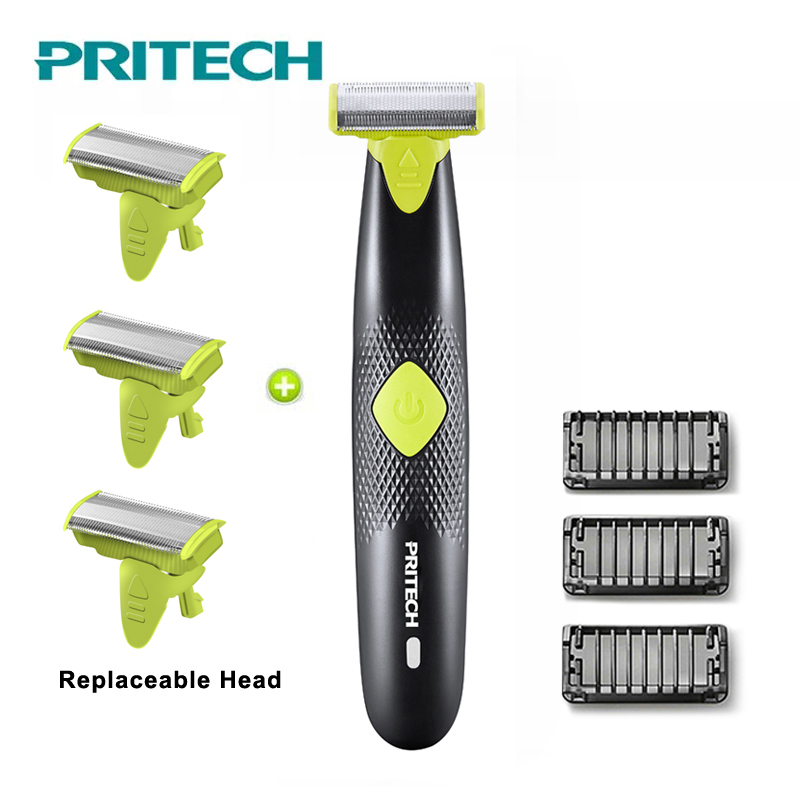 PRITECH Electric Hair Trimmer For Men Hair Cutter Professional Cutting Machine Body Hair Clipper Electric Razor Shaver