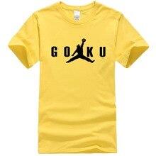 Dragon Ball Z T Shirt Men Short Sleeve Fashion Cotton Son Goku Air T-Shirt Anime Shirt Men Clothing Tops OT-305