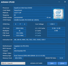 US $14 1 |E5450 e5450 Intel Xeon SLANQ or SLBBM Quad Core 3 0GHz 12MB  1333MHz socket 775 works on LGA 775 mainboard no need adapter-in CPUs from