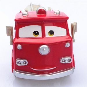 Image 5 - דיסני פיקסאר רכב 3 אש משאית קטן אדום 1:55 למות יצוק מתכת סגסוגת דגם מכונית צעצוע לילדים מתנה הטובה ביותר