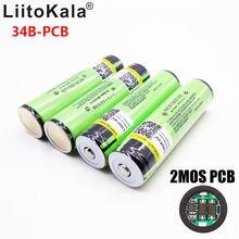 2019 oryginalny LiitoKala 18650 3400 mah NCR18650B 3.7 v 3400 mah 18650 akumulator litowy do baterii latarki
