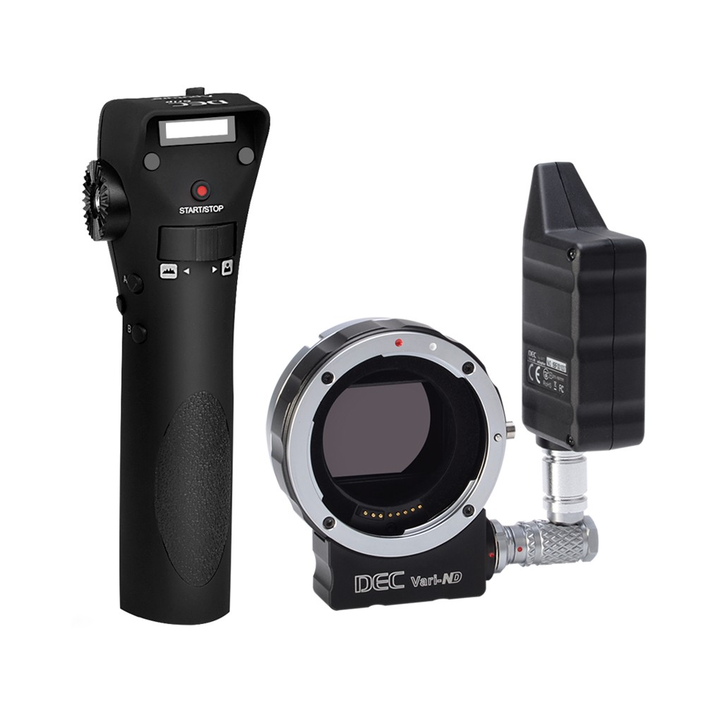 Aputure DEC Vari-ND ND8 to ND2048 Using EF-mount Lenses For E Mount DSLR MINI Cameras Lens Adapter viltrox ef nex iv auto focus adapter mount for canon ef lenses to use on sony full frame a9 a7r camera e mount a6500 a6300 a7rii