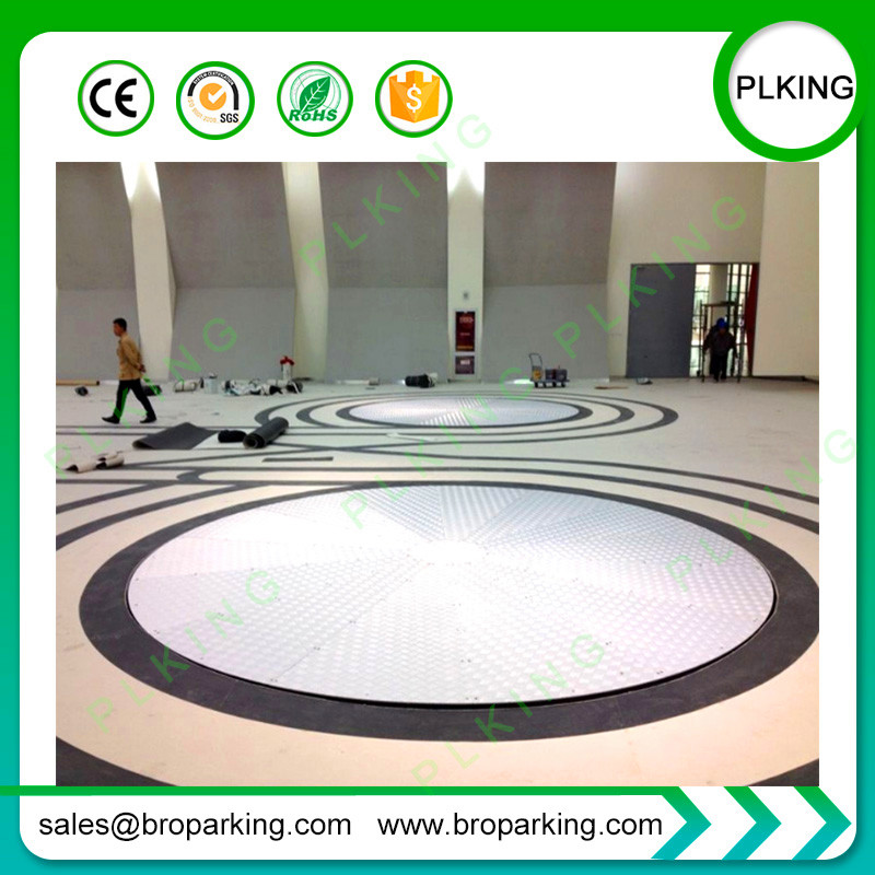 Automatic Smart Car Parking System Round Car Carousel Rotary Turntable