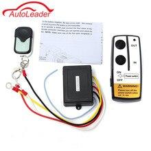 Unidad de Conmutación Universal Wireless Winch Control Remoto Controlador Favorable Dominante Fob Para El Carro ATV SUV Winch 12 V