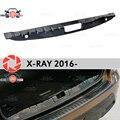 Крышка на пороге багажника для Lada X-Ray 2016-Накладка на порог багажника внутренняя отделка Аксессуары защита автомобиля Стайлинг
