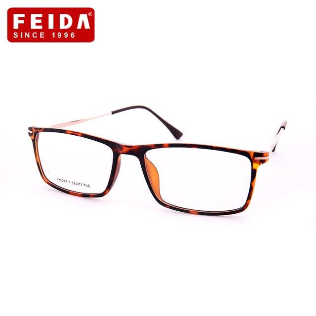 c8cd70d548 Men Plastic Titanium Eyeglasses Frame Computer Optical Eye Glasses Clear  Lens Men Reading Light Eyeglasses Frame