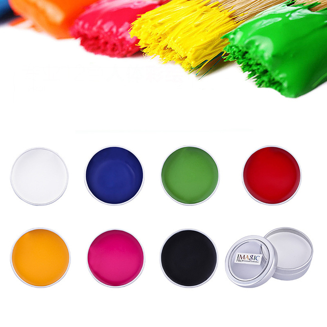 IMAGIC Body Paint Oil Painting Art Make Up Palette Halloween Party Fancy Dress Professional Masquerade Body Painting