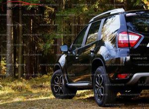 Image 5 - Parafanghi per Nissan Terrano 2014 2019 su ruote anteriori assetto accessori mud flaps larghe paraspruzzi mud car styling