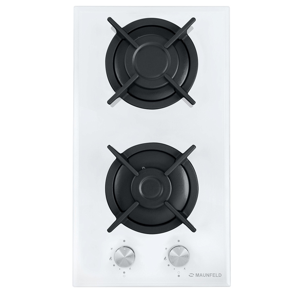 Cooking panel MAUNFELD EGHG.32.1CW/G White cooking panel maunfeld eghg 64 2cw g white