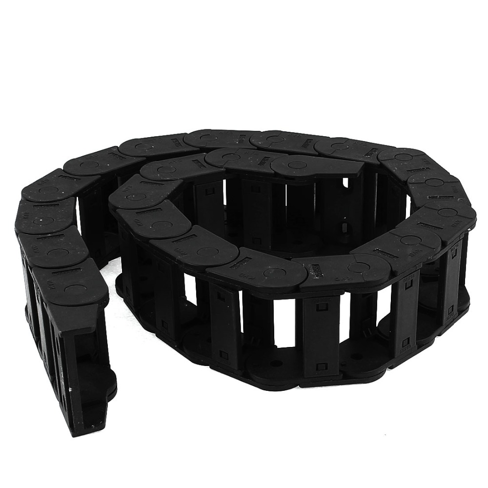 UXCELL Cable Drag Chain Wire Carrier 25mm x 50mm R55 1.0M Length For CNC Machine Tools Transmission Chains Power Parts