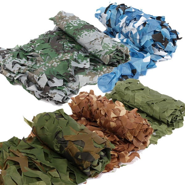 1mX2m Desert Military Camouflage Net Camo For Jungle Blinds Hunting Camping Military Photography Jungle Blinds Car-covers Net