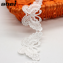 Patchworks Trims Ribbon Garment Bridal-Headwear-Accessories Wedding-Dress Butterfly Lace
