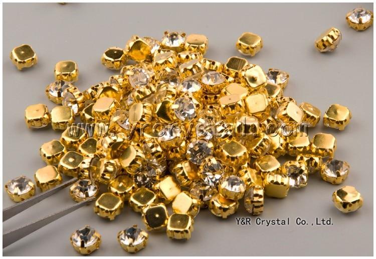 SS12-SS45 Guldfärg i olika storlek Sy på stenglas Crystal Shinny - Konst, hantverk och sömnad - Foto 4