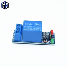 10 pçs/lote 1 Channel 5 V Módulo de Relé de Baixo nível para Controle de Eletrodomésticos SCM