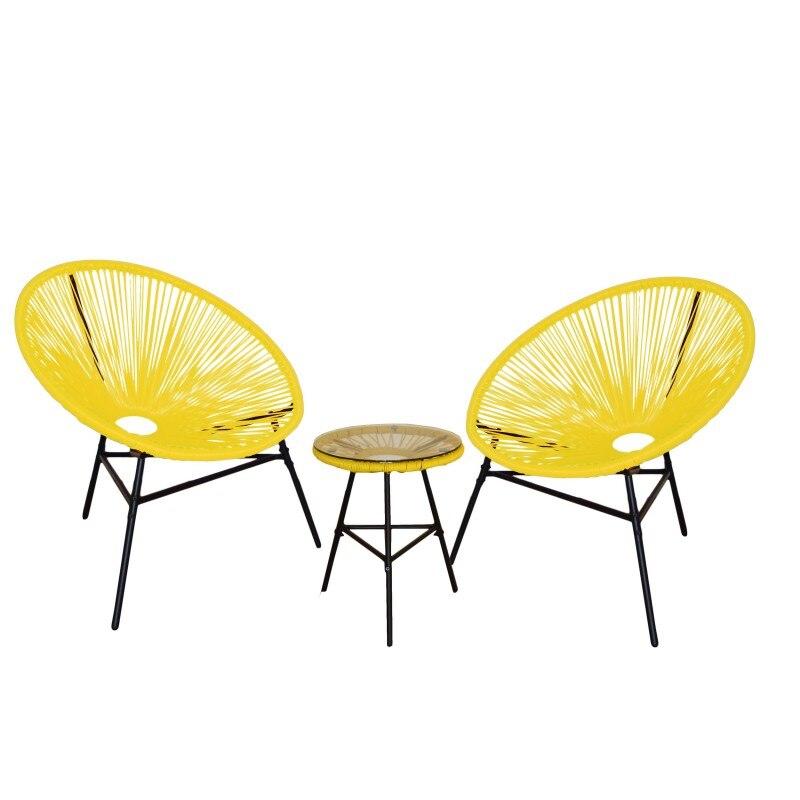 Image 2 - KieferGarden. Pack 2 ACAPULCO chairs. Garden Furniture. Outdoor furniture. Chairs Outdoor Garden. outdoor chair. garden chair-in Garden Chairs from Furniture