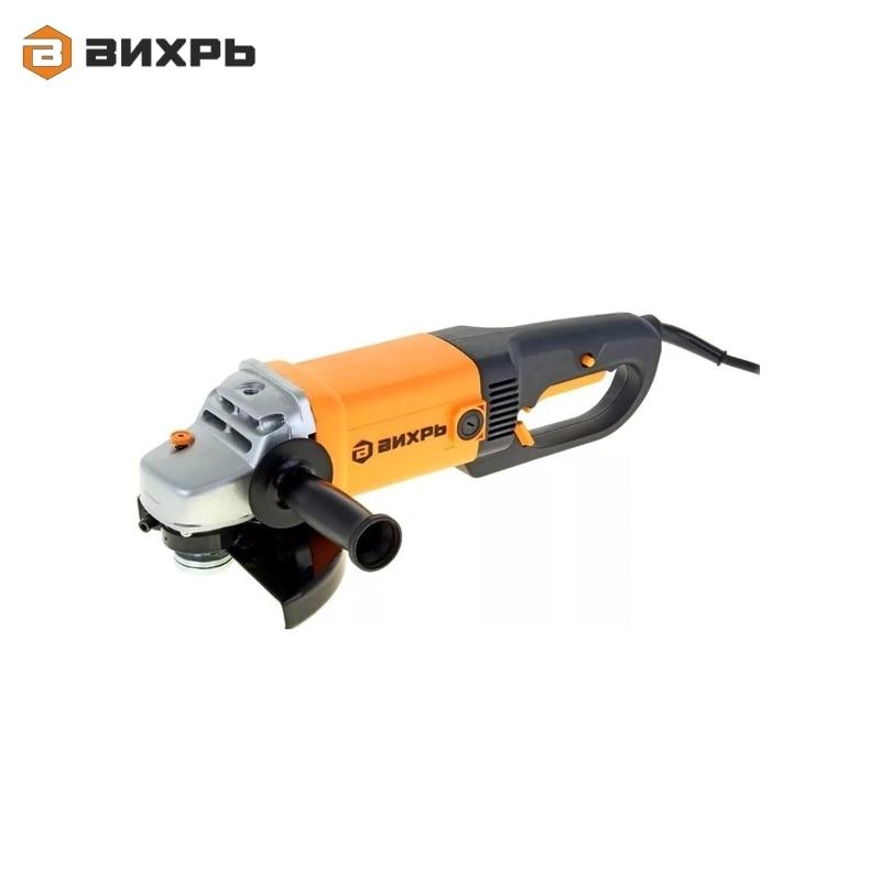 Angle grinder (bulgarian) VIHR USHM-180/1800 for grinding or cutting metal Electric portable grinder Angle drive grinder цена и фото
