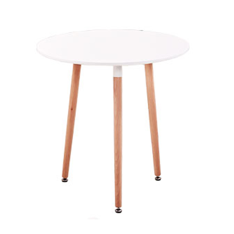 Kitchen Dining Table White Round Coffee Table Modern
