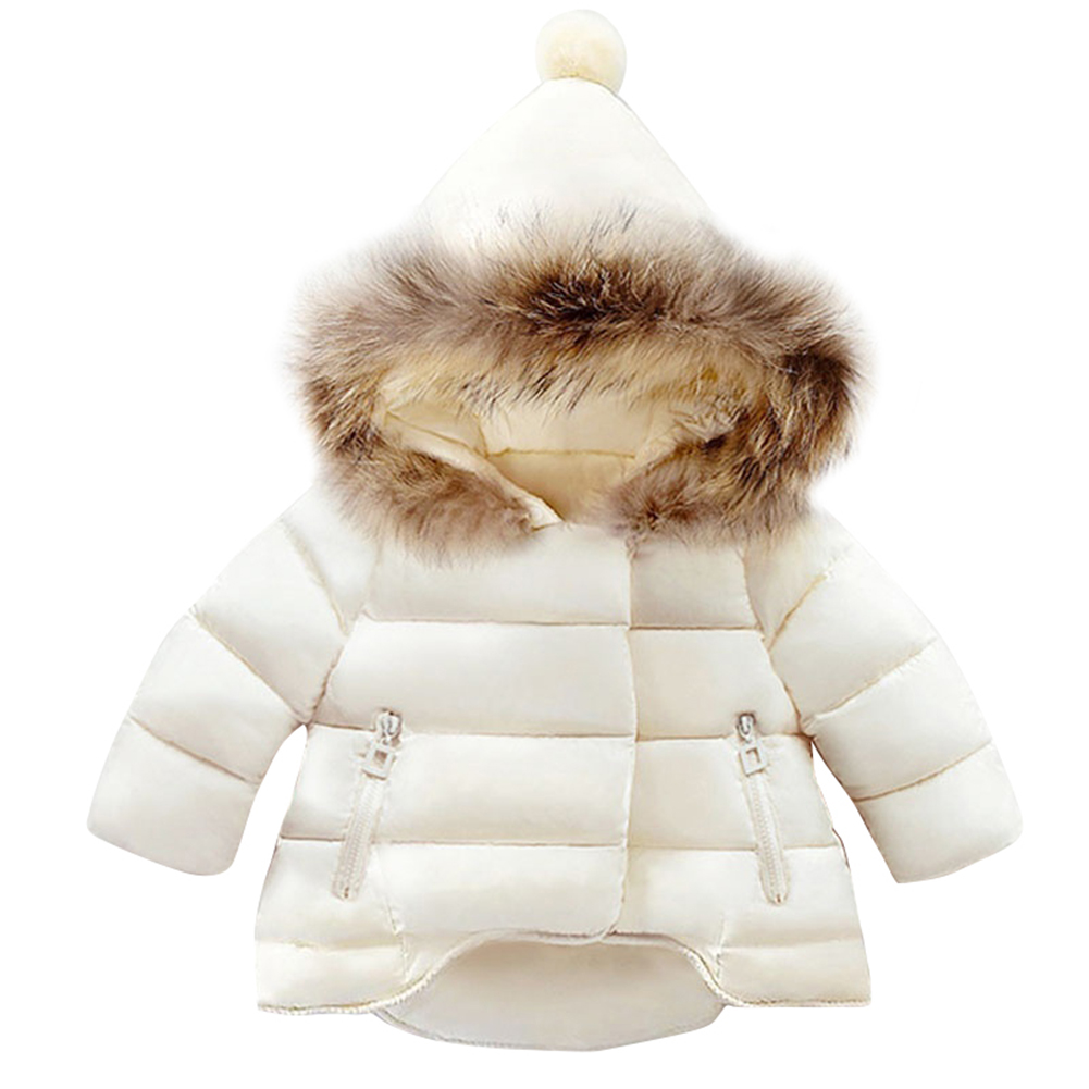 Fashion Autumn Winter Newborn Baby Girls Boys Long Sleeve Outdoor Zippered Hooded Coat rib cuff zippered hooded coat