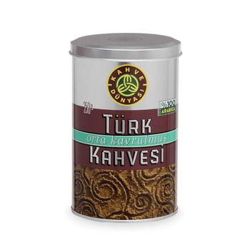 Turkish Roasted Ground Arabica Coffee World Kahve Dünyası